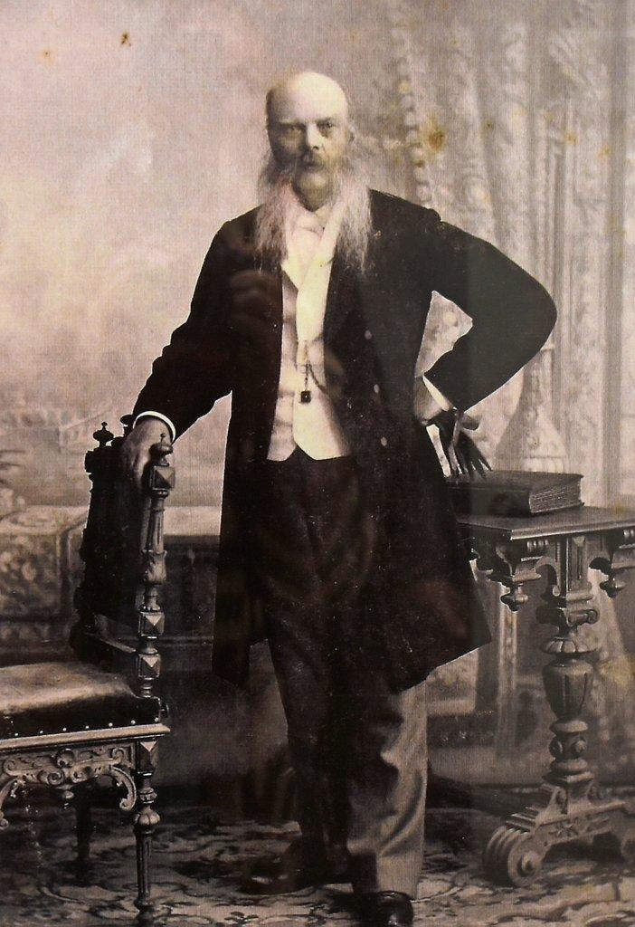 Fyrvokter Olaus Blekum i 1911