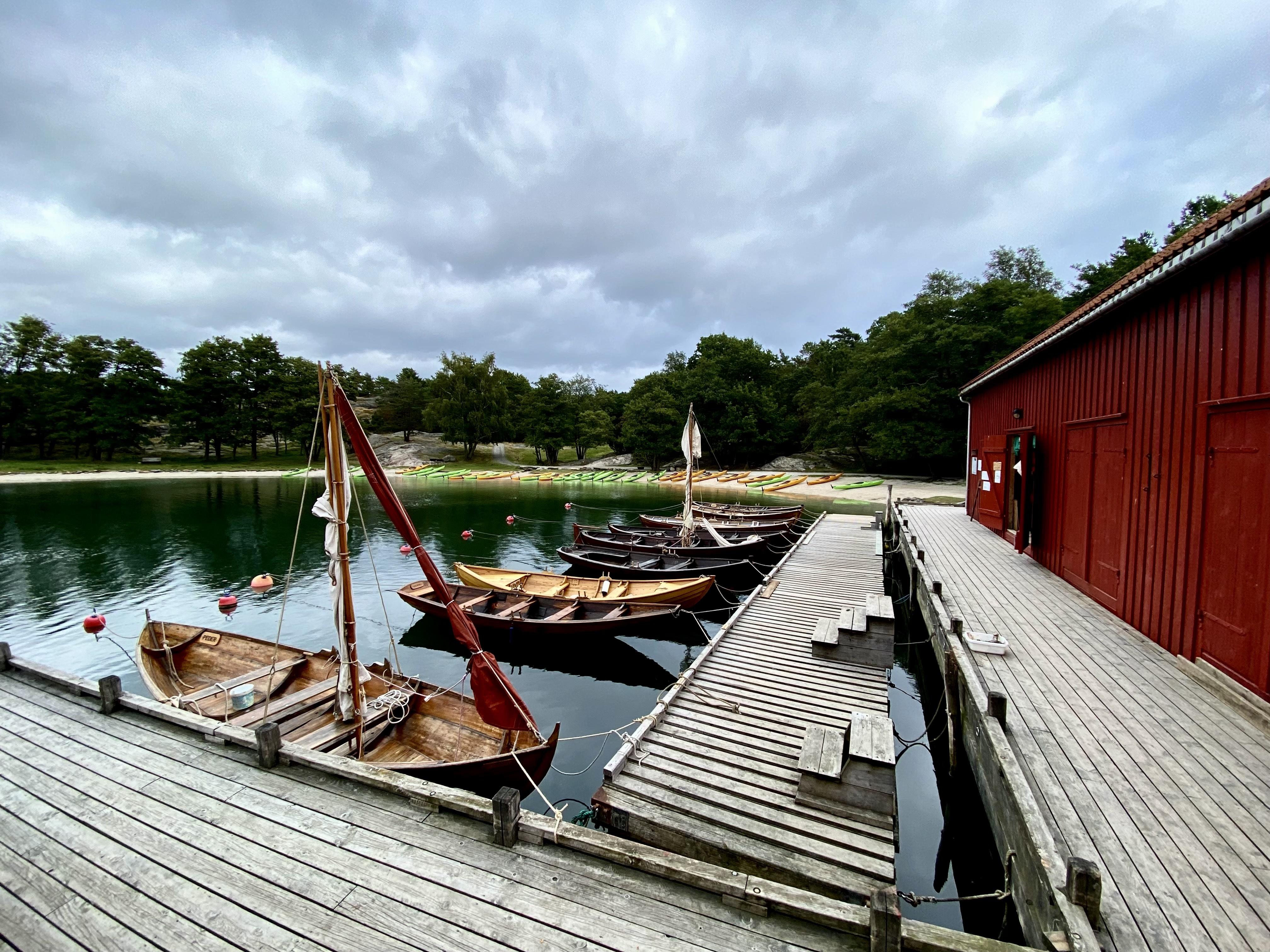Tradisjonsbåter på Bragdøya. Foto: Forbundet KYSTEN