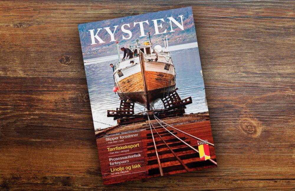 Medlemmer av Forbundet KYSTEN får fem nummer av tidsskriftet årlig.