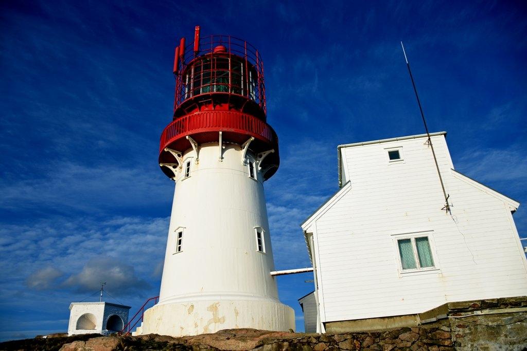Lindesnes kystlag vil ta seminardeltakerne med på besøk til Lindesnes fyr. Foto: Guro Waksvok