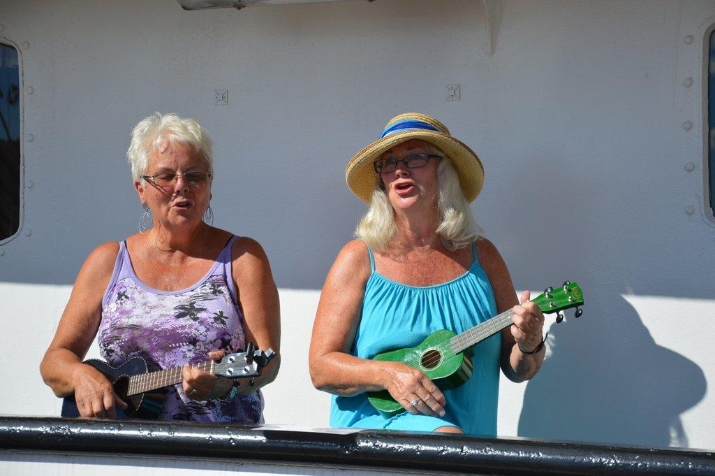 Glade musikanter på landsstevnet i 2014. Foto Tuva Løkse
