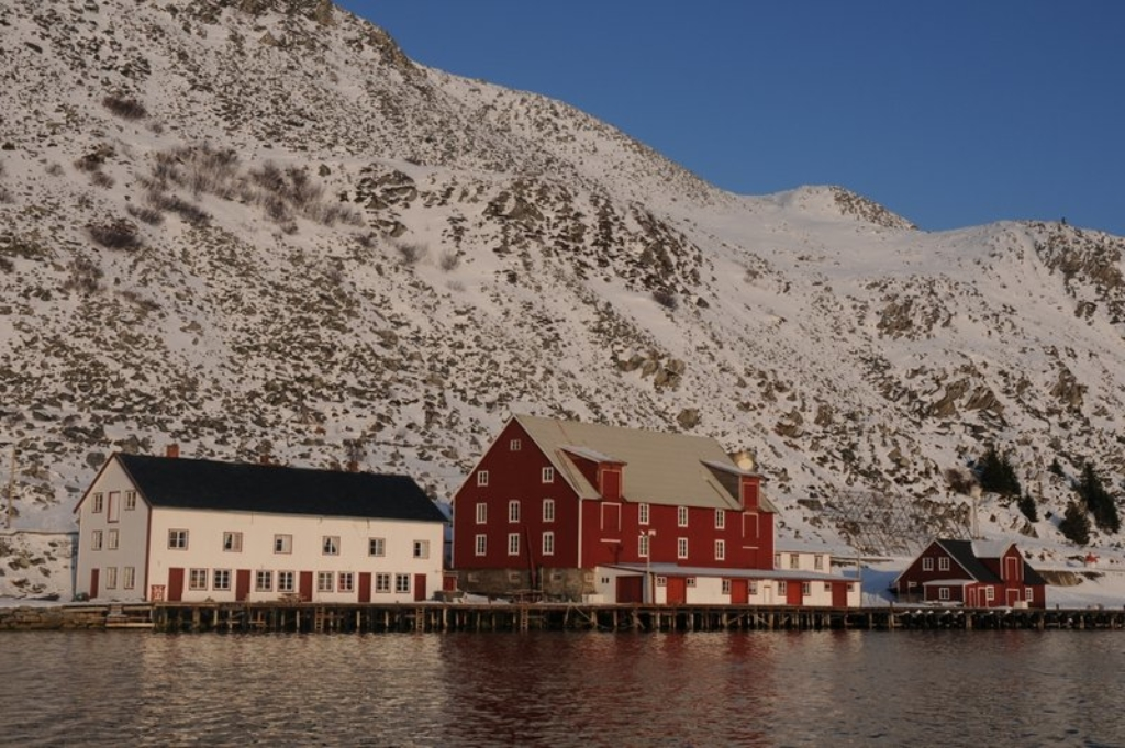 I september samles vi hos Kjøllefjord kystlag på Foldalbruket. Foto: Leif Yngve Wallenius