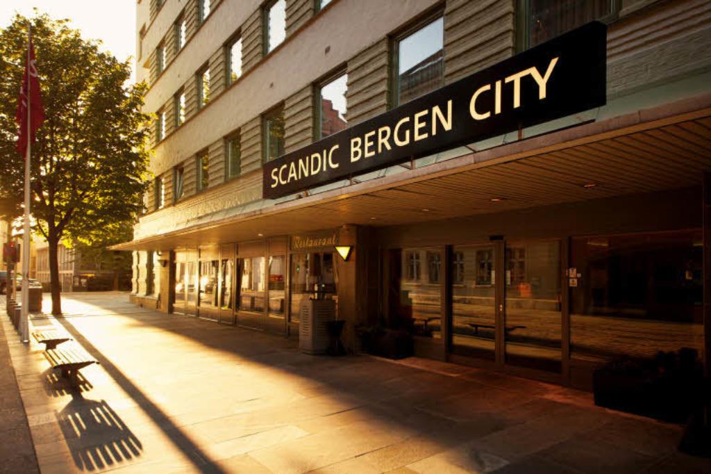 Scandic Bergen City Exterior Facade Entrance 4