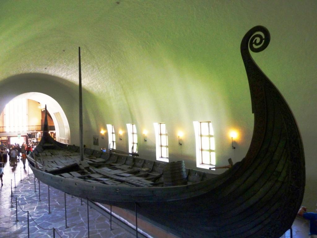 Vikingskipene på Bygdøy trenger sikring umiddelbart. Foto: Vikingeskipshuset