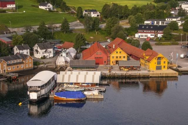 Under årets landsmøte vil vi besøke Hardanger fartøyvernsenter! Foto: Hardanger Fartøyvernsenter