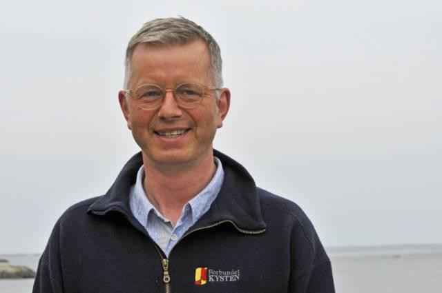 Asgeir K. Svendsen er styreleder i Forbundet KYSTEN. Foto: Bente Foldvik