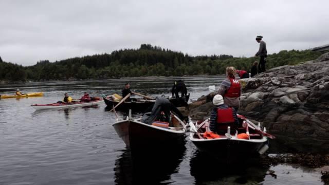 Roing og padling trenger stort sett samme tilrettelegging. Nå utvider vi samarbeidet vårt med Norges padleforbund. Foto: Sveinung Uddu Ystad