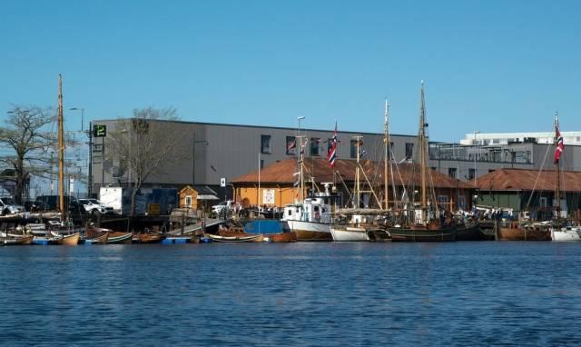 Kystlaget Trondhjem sørger for liv og aktivitet i kanalhavna og på Fosenkaia. Foto: Knut Skaun Sveen