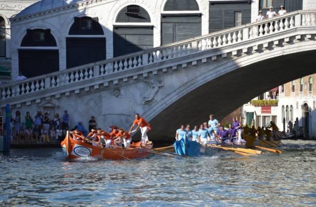 I venezia gjør de også en stor innsats for å ta vare på egne båttradisjoner. Nå styrker vi vårt internasjonale samarbeid. Foto: Tuva Løkse