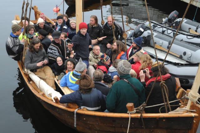 Det skal nå bli enklere å drive opplæring og formidling i båt, innenfor regelverket. Foto: Kystlaget Viken