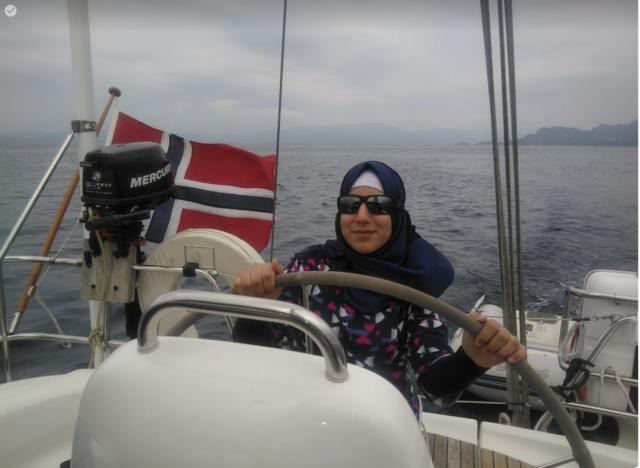 På seiltur med Vinnesholmen kystlag. Foto: kystlaget
