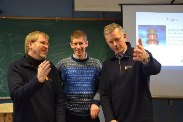 Fra regionalt seminar hos Leirong kystlag i Rogaland i 2014. Foto: Tuva Løkse
