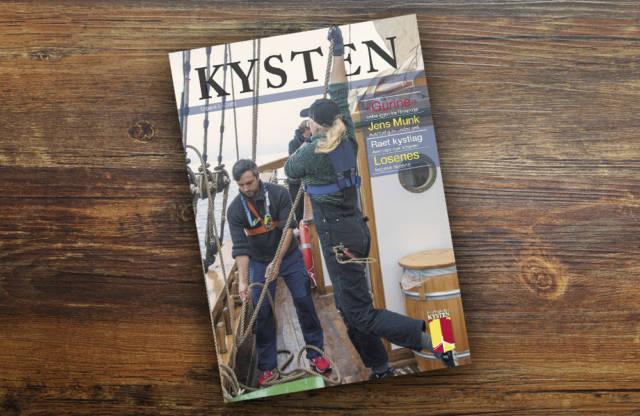 """Nyrestaurerte """"Gurine"""" pryder forsiden på nyeste nummer. Foto: Bente Foldvik"""
