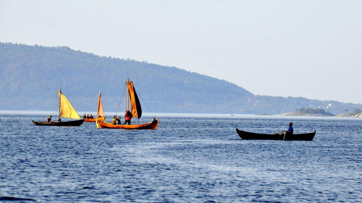 tradisjonsbåter i bruk